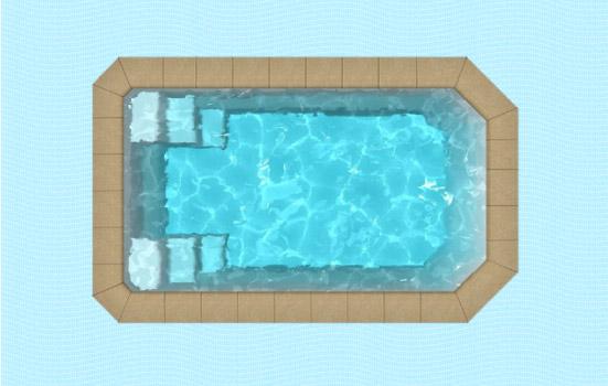 Pose de piscines ma onn es et polyester travaux de for Micro piscine coque